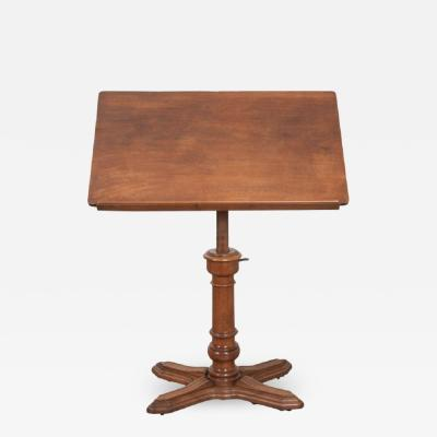 French 19th Century Mahogany Lectern Podium
