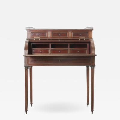 French 19th Century Mahogany Louis XVI Lady s Desk
