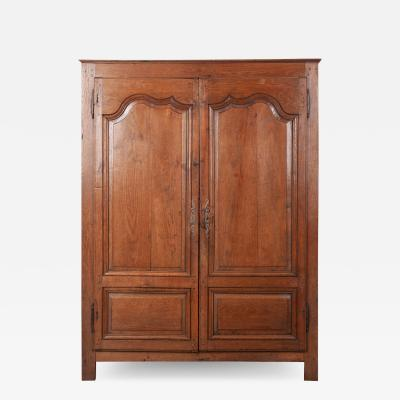 French 19th Century Oak Armoire