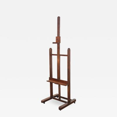 French 19th Century Oak Artist s Easel