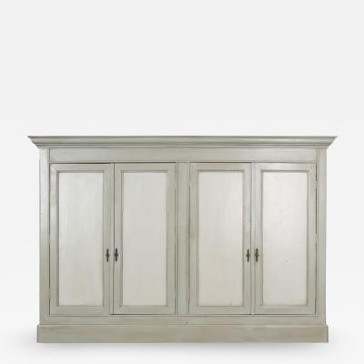 French 19th Century Painted Cabinet