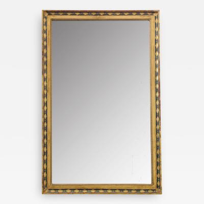 French 19th Century Parcel Gilt Empire Mirror