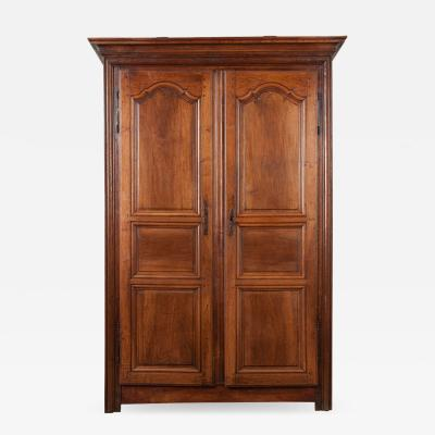 French 19th Century Provincial Walnut Armoire
