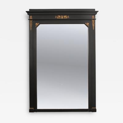 French 19th Century Second Empire Ebonized Mirror