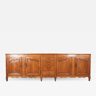 French 19th Century Transitional Fruitwood Enfilade