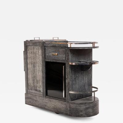 French Art Deco Bar Cart Wagon