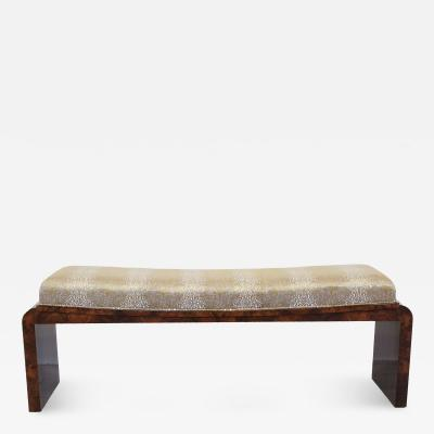 French Art Deco Bench Circa 1940s