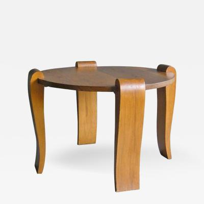 French Art Deco Gueridon or Coffee Table