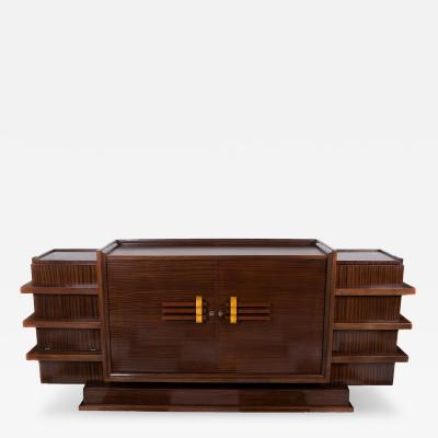 French Art Deco Period Rosewood Buffet Circa 1930s