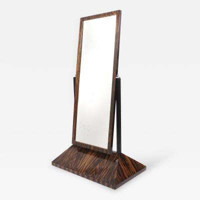 French Art Deco Period Rosewood Dressing Mirror circa 1930s