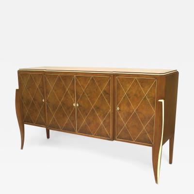 French Art Deco Style Amboyna Sideboard
