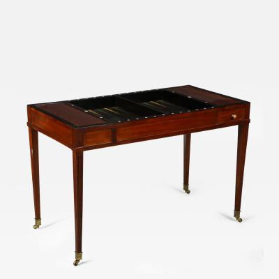 French Backgammon Table