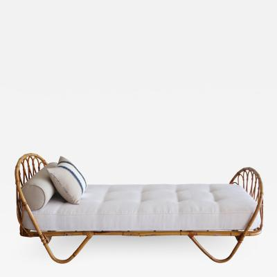 French Bamboo Daybed