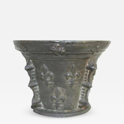 French Bronze Mortar Early 17th Century
