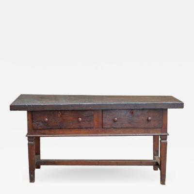 French Console With Drawers