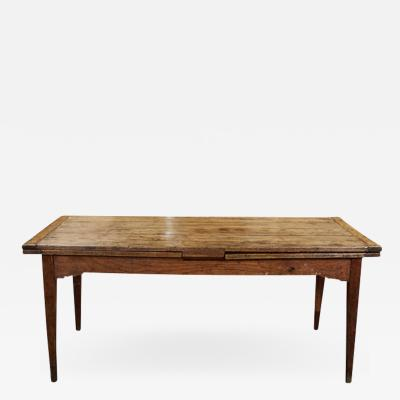 French Country Dining Table with Pull Out Leaves