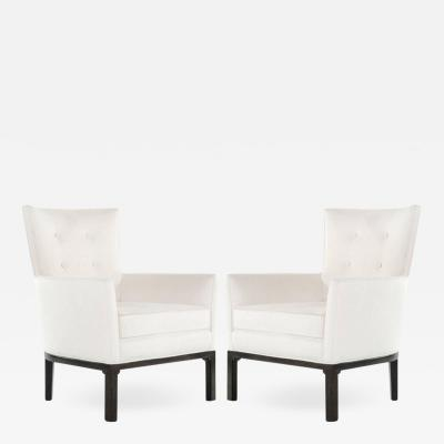 French Deco Chairs in Belgian Linen 1940s