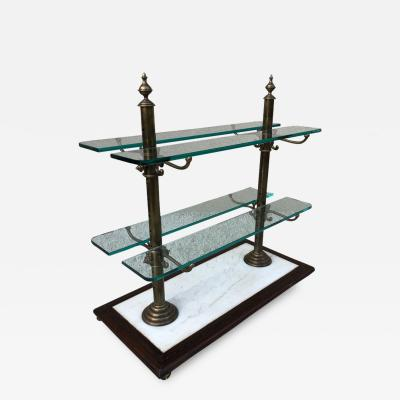 French Decorative Vintage Bistro Pastry Shelve Stand