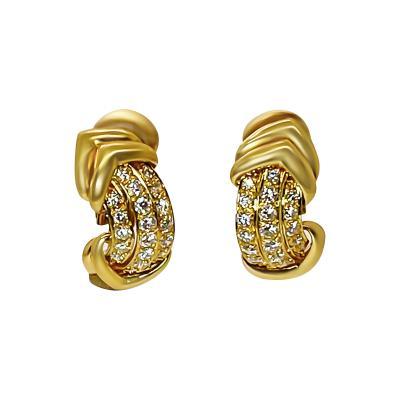 French Diamond Earrings