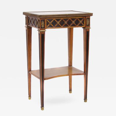 French Directoire Style Occasional Table Early 20th Century
