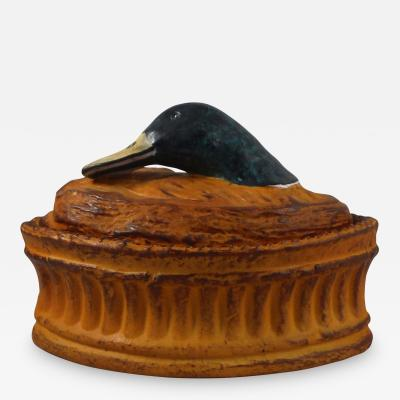 French Duck P t Tureen