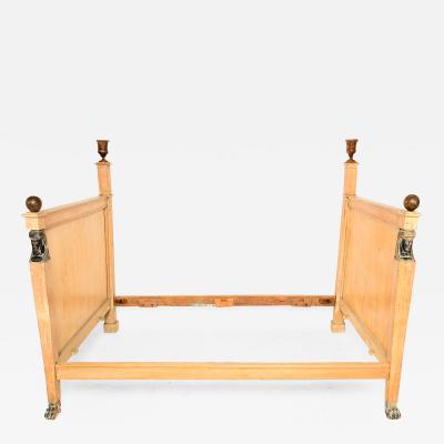 French Empire Day Bed Egypt Revival Daybed