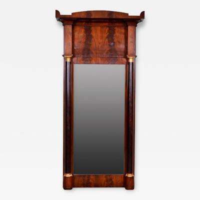 French Empire Trumeau Mirror 19th Century
