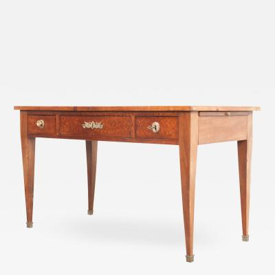 French Empire Walnut Writing Table