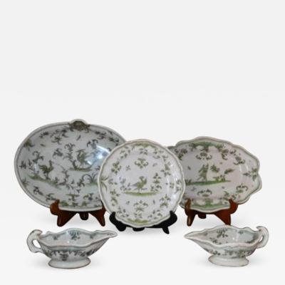 French Faience ca 1700s Bordeaux