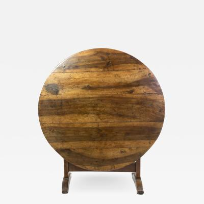 French Fruitwood Vendange Table circa 1870