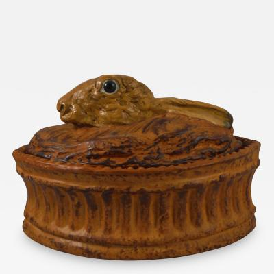 French Hare P t Tureen