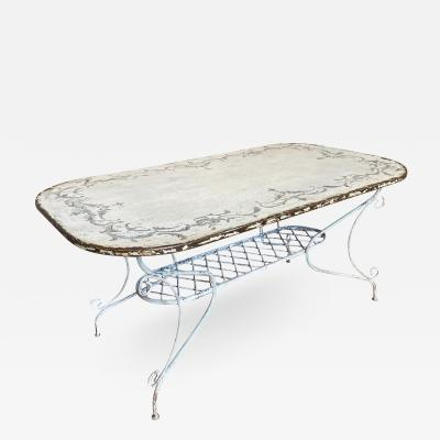 French Late19th Early 20th Century Garden Table