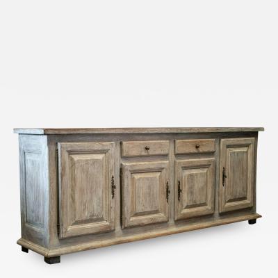 French Limed Oak Enfilade Sideboard