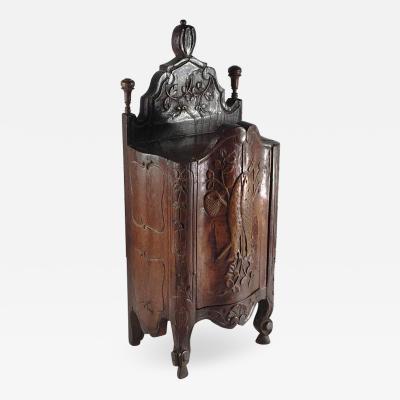 French Louis XV Provincial Fariniere Box Late 18th Century