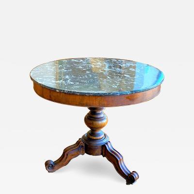 French Marble top Gueridon Circa 1800