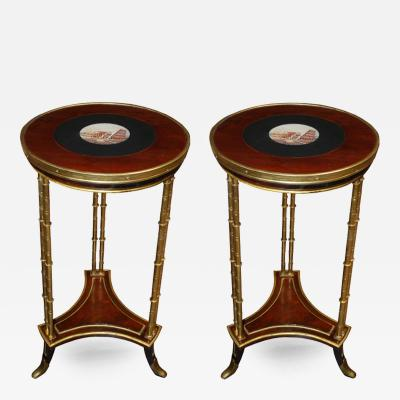 French Micro Mosaic Top Tables 18th Century