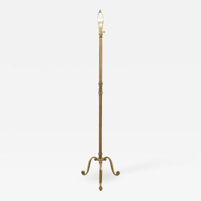French Mid Century Bagues Bronze Floor Lamp
