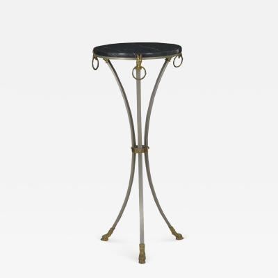 French Neoclassical Accent Table in Maison Jansen Style