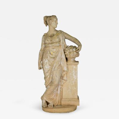 French Neoclassical Garden Statue