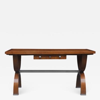 French Oak 1940s Desk