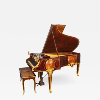 French Ormolu Mounted Kingwood and Vernis Martin Piano by Pleyel and Barbedienne