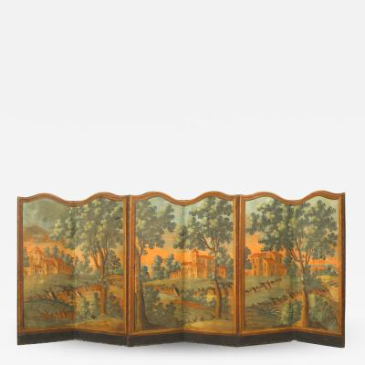 French Provincial 6 Fold Screen
