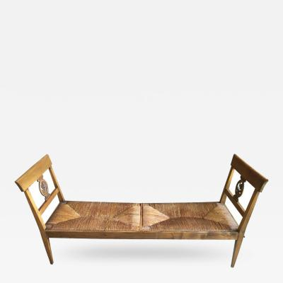 French Provincial Fruitwood Bench 18th Century