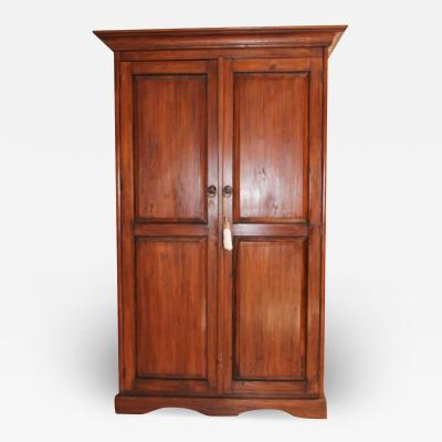 French Provincial Style Armoire Cabinet
