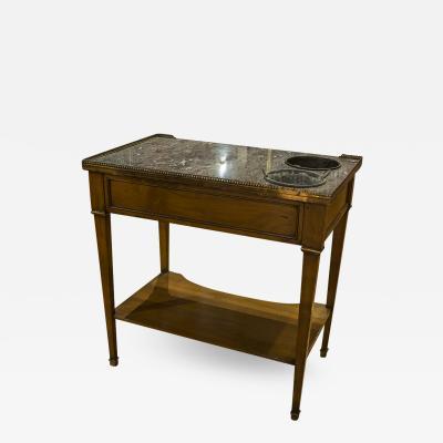 French Rafraichissoir Two Tiered Table