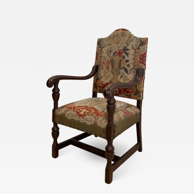 French Renaissance Revival Armchair Circa 1900