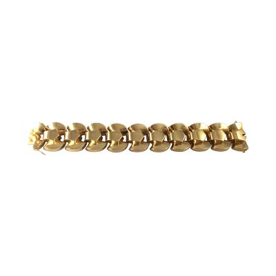 French Retro 18K Gold Bracelet