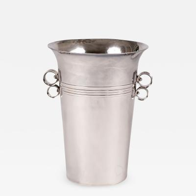 French Silver Plate Champagne Bucket