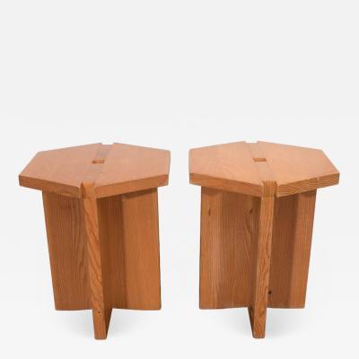 French Studio Hexagon Chairs
