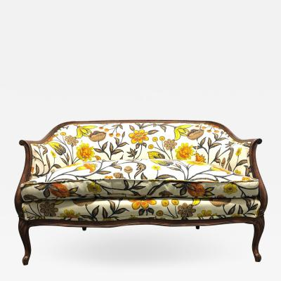 French Style Floral Loveseat